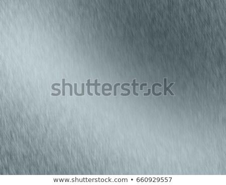 Grijs metalen abstract metaal roestvrij roestvrij staal Stockfoto © kurkalukas