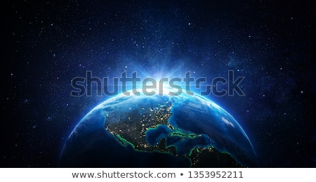 Earth from space - USA. Elements of this image furnished by NASA Stock photo © ixstudio