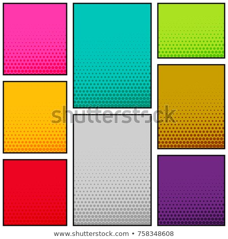 multi color comic book style vertical banner design Stock photo © SArts