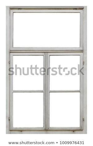 big wooden frame stock photo © ajt