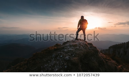 Hiker standing at countryside Stock photo © wavebreak_media