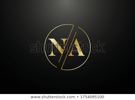 Stock photo: Letter N logo icon shape concept design. business corporate logo template element. vector illustrati