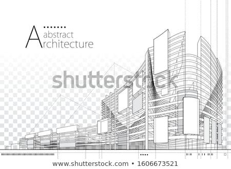 Blueprint. Architectural background. Stock photo © biv
