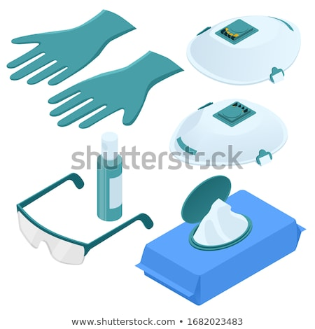 a set of medical alcohol stock photo © bluering