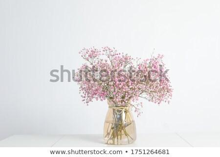 bouquet · bella · rosa · fiori · vecchio · legno - foto d'archivio © melnyk
