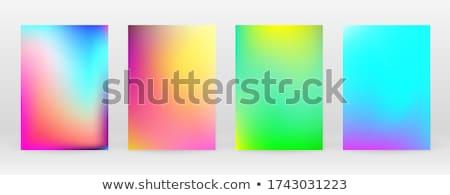Establecer vibrante colorido pendientes fondo móviles Foto stock © SArts