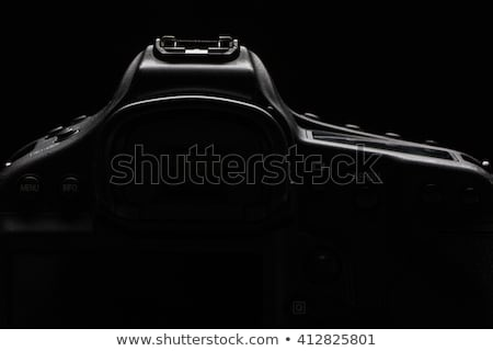 professional modern dslr camera low key stock photoimage stock photo © lightpoet