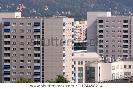 Suburb of Dresden Stock photo © manfredxy