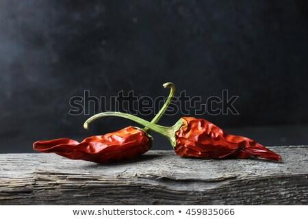Rood groene drogen geïsoleerd witte Stockfoto © karandaev