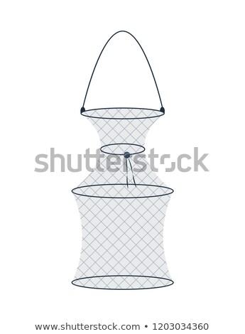 Net pêche piège engins icône illustration Photo stock © robuart