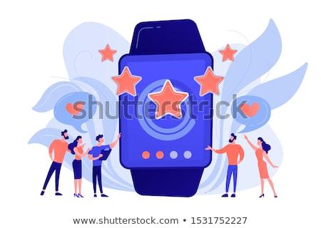 Luxury smartwatch concept vector illustration. Stock photo © RAStudio
