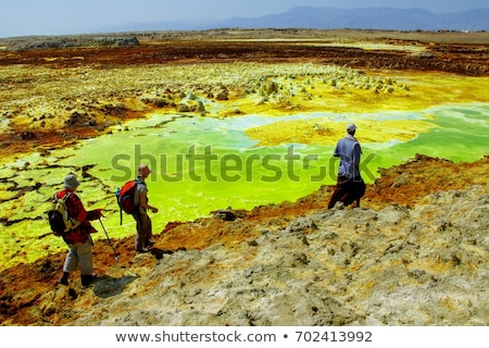 Dallol, Ethiopia. Danakil Depression Stock photo © artush
