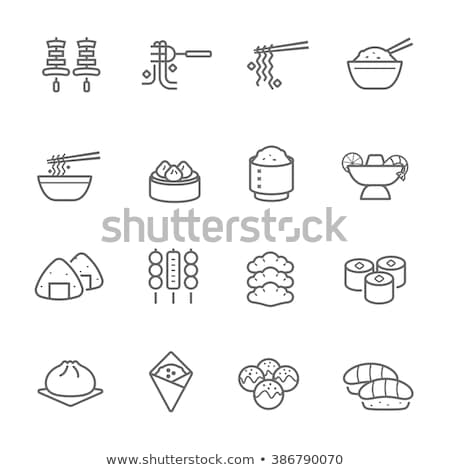 sushis · autre · traditionnel · icônes · poissons - photo stock © marish