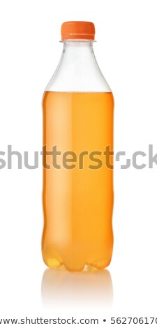 Carbonated Yellow Soft Drink Plastic Bottle Stock photo © albund
