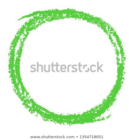 Witte krijt stijl cijfer illustratie Stockfoto © Blue_daemon