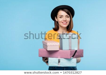 Dość prezenty wakacje Zdjęcia stock © pressmaster
