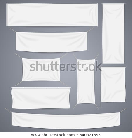 Lona banners conjunto enforcamento texturas Foto stock © cidepix