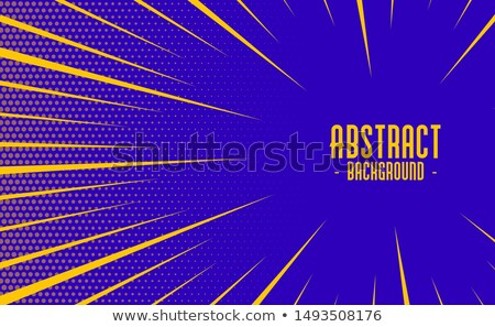 abstract comic style speed zoom lines background design Stock photo © SArts