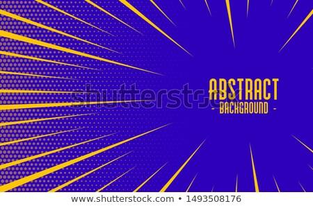 Soyut komik stil hızlandırmak yakınlaştırma hatları Stok fotoğraf © SArts