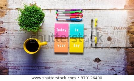 tijd · nu · afbeelding · mooie · klok · business - stockfoto © ivelin