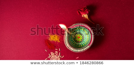 Stock photo: happy diwali colorful empty decorative banner design