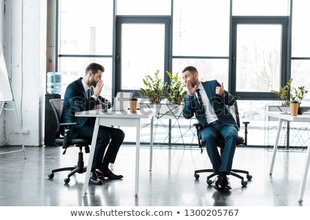 Business Peopl Whispering In The Office Stock photo © AndreyPopov