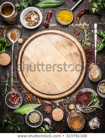 Healthy vegan foods selection on white wooden background with cutting board. Stock photo © Illia