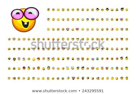 Small size emoticon Stock photo © yayayoyo