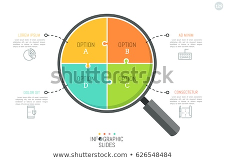 Magnifying Glass - Find The Answer stock photo © kbuntu
