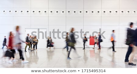 Going visitor at an exhibition Stock photo © Paha_L
