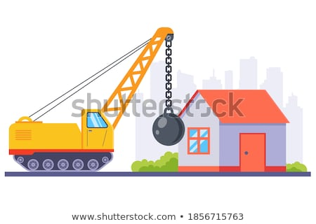 Demolished house Stock photo © 5xinc