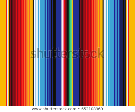 colorful mexican blankets stock photo © crackerclips