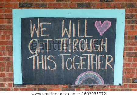 help written with chalk stock photo © bbbar