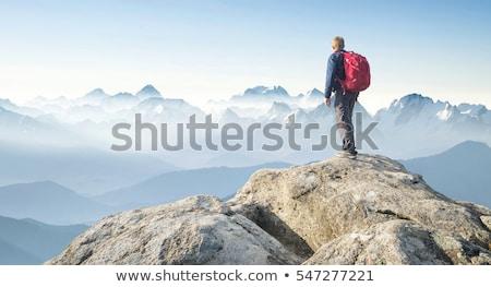 Mountain Summit Ridge Stock photo © Alvinge