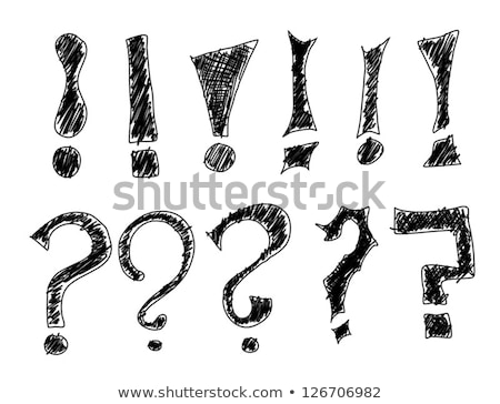 multiple question marks as symbol for questions and answers stock photo © stuartmiles