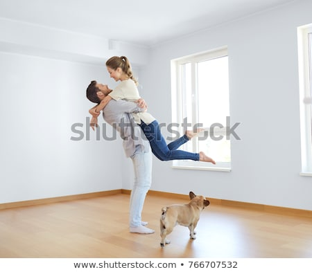 two girlfriends moving into a new apartment stock photo © photography33