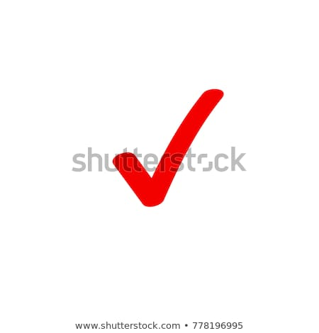 Red CheckMark in Checkbox  Stock photo © JohanH