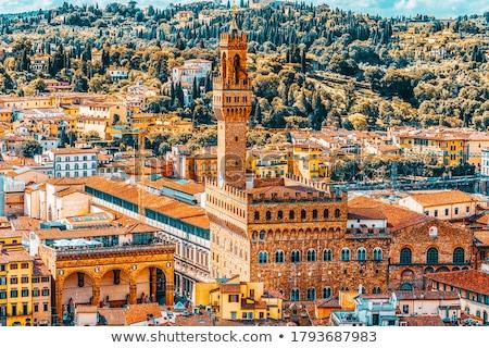 Palazzo Vecchio from Above Stock photo © ca2hill
