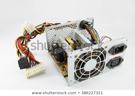old power supply line Stock photo © prill