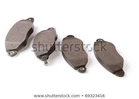 aleación · rueda · establecer · aislado · blanco · primer · plano - foto stock © ruslanomega