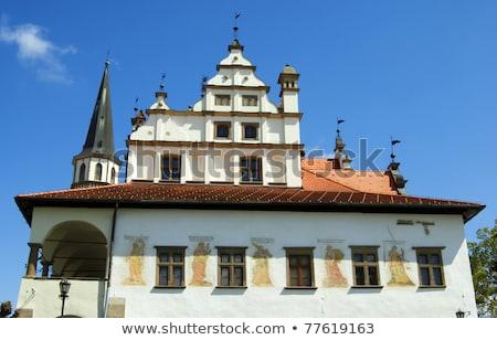 former town hall, Square of Master Paul, Levoca, Slovakia stock photo © phbcz