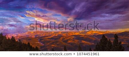 Rocky Sunrise Stock photo © thisboy