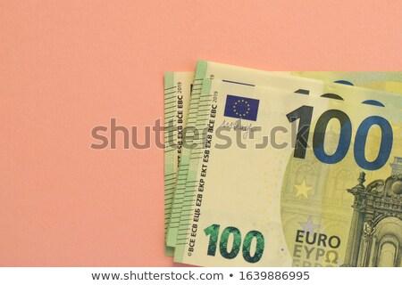Jeden sto euro biały działalności Zdjęcia stock © Grazvydas