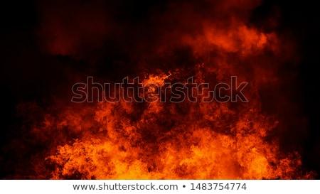 Ardiente explosión ilustración rojo textura fuego Foto stock © ArenaCreative