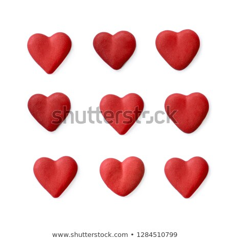Cartão dia dos namorados corações colorido cartão Foto stock © bharat