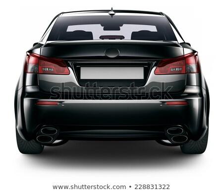 autó · sziluett · illusztráció · bürokrácia · sport · terv - stock fotó © cla78