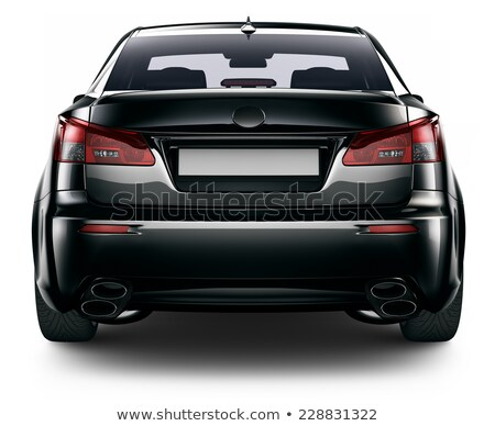 Black back car stock photo © cla78