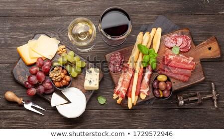 antipasti · gıda · tablo · domates · öğle · yemeği · taze - stok fotoğraf © neillangan