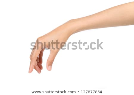 Person's hand gripping an arm Stock photo © bmonteny