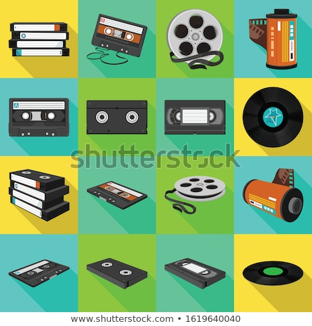 video cassette stock photo © kitch